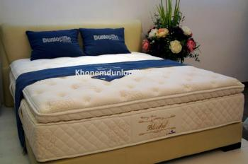 Dunlopillo Blissful – Nệm lò xo túi Dunlopillo
